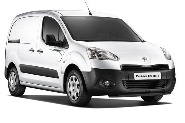Electric Peugeot Partner