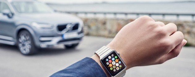 Volvo On Call Smartwatch App 01
